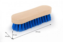 Щітка для миття ручна поліпропілен, 20,5 см.